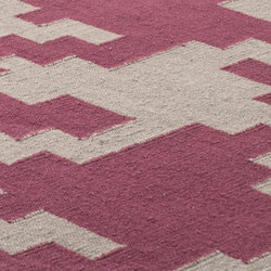 LTJ Kelim red earth & nature grey | Rugs / Designer rugs | kymo