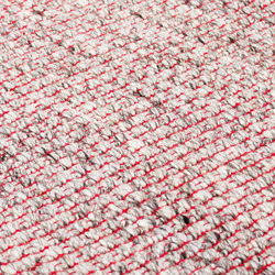 Nordic Plain nature & red | Rugs | kymo