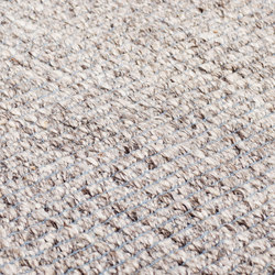 Nordic Plain nature & icey blue | Rugs | kymo