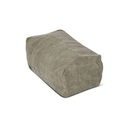 Club Pouf: Canvas Dark Green 011 | Poufs | NORR11