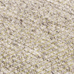 Nordic Plain nature & lime green | Rugs | kymo