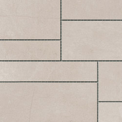 Damasco Blanco Natural Mosaic A | Mosaici | INALCO