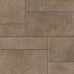 Damasco Marrón Natural Mosaic A | Mosaike | INALCO