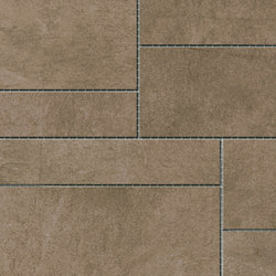 Damasco Marrón Natural Mosaic A | Mosaïques | INALCO