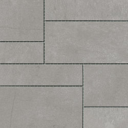 Damasco Gris Natural Mosaic A | Ceramic mosaics | INALCO