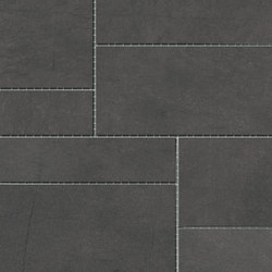 Damasco Negro Natural Mosaic A | Ceramic mosaics | INALCO