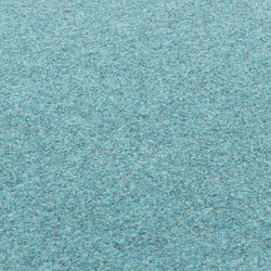Fabric [Flat] Felt turquoise | Formatteppiche / Designerteppiche | kymo