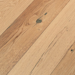 OAK Antique brushed | natural and white oil | Planchers bois | mafi