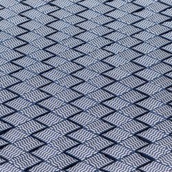 MNML 101 Outdoor | Indoor dark navy & silver | Rugs / Designer rugs | kymo