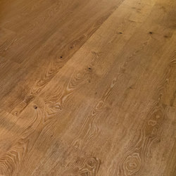 OAK Character heavily brushed | natural oil | Wood flooring | mafi