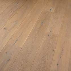OAK Country brushed | natural and white oil | Planchers bois | mafi