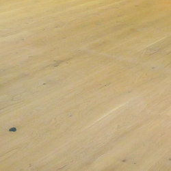 OAK Country wide-plank brushed | natural and white oil | Sols en bois | mafi
