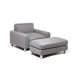 Baxter Chair | Baxter Ottoman | Sessel | Naula