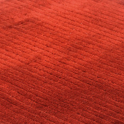 Suite BRLN Polyester cayenne | Rugs / Designer rugs | kymo