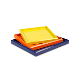 Lacquer Nesting Trays | Tabletts | Naula