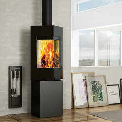 Q-BE | Wood burning stoves | Attika Feuer