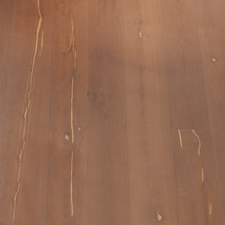 Magic OAK Vulcano white hand-planed | natural oil | Sols en bois | mafi