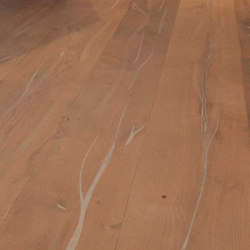 Magic OAK Vulcano silver hand-planed | white oil | Sols en bois | mafi