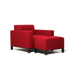Wooster Chair | Wooster Ottoman | Sillones | Naula