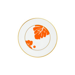 AURÉOLE COLORÉE Bread plate | Services de table | FÜRSTENBERG