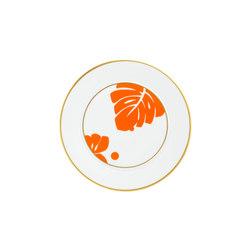 AURÉOLE COLORÉE Bread plate | Stoviglie da tavola | FÜRSTENBERG