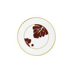 AURÉOLE COLORÉE Bread plate | Dinnerware | FÜRSTENBERG
