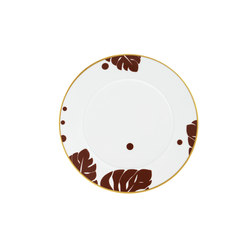 AURÉOLE COLORÉE Breakfast plate | Dinnerware | FÜRSTENBERG