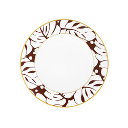 AURÉOLE COLORÉE Dinner plate | Dinnerware | FÜRSTENBERG