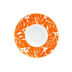 AURÉOLE COLORÉE Pasta plate | Dinnerware | FÜRSTENBERG
