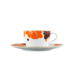 AURÉOLE COLORÉE Tee-/Cappuccinotasse 2-tlg. | Geschirr | FÜRSTENBERG