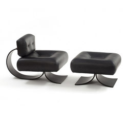 Alta Lounge Chair with Ottoman | Lounge chairs | Espasso