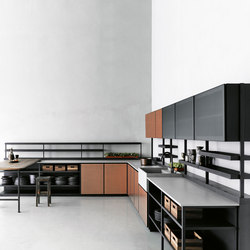 Salinas | Fitted kitchens | Boffi