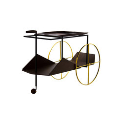 JZ Tea Trolley | Carritos de servicio / Carritos de bar | Espasso