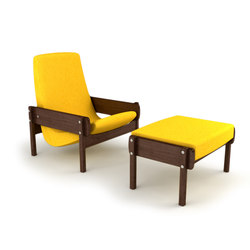 Vronka Armchair with Ottoman | Lounge chairs | Espasso