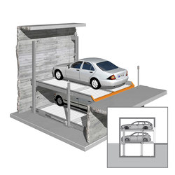 Barrier-free parking | Sistema de estacionamiento | KLAUS Multiparking