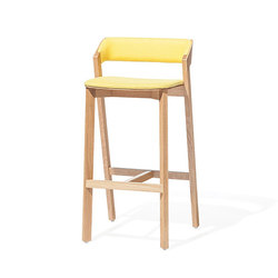 Merano Barstool upholstered | Taburetes de bar | TON