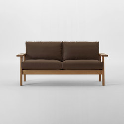 Bruno Two Seater Sofa | Canapés d'attente | MARUNI