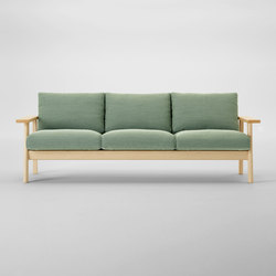 Bruno Three Seater Sofa | Sofas | MARUNI