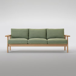 Bruno Three Seater Sofa | Canapés d'attente | MARUNI