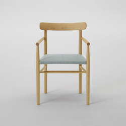 Lightwood Arm Chair (Cushioned Seat) | Restaurant chairs | MARUNI