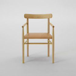 Lightwood Arm Chair | Restaurant chairs | MARUNI