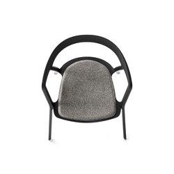 Compas Shiny petit fauteuil | Coussins de siège | Kristalia