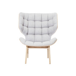 Mammoth Chair, Natural / Wool: Light Grey 1000 | Lounge chairs | NORR11
