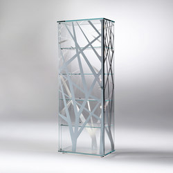 Onis Rectangular | Display cabinets | Reflex