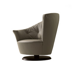 Arabella Swivel Armchair | Fauteuils d'attente | Giorgetti
