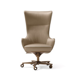 Genius Armchair | Chaises de direction | Giorgetti