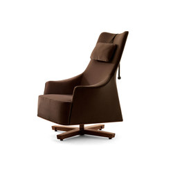Mobius Wing Chair | Loungesessel | Giorgetti