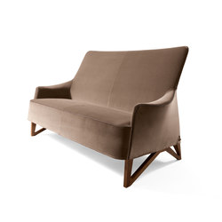 Mobius 2-Seat Sofa | Canapés d'attente | Giorgetti