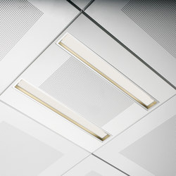 Long Mini Down double | Recessed ceiling strip lights | Kreon
