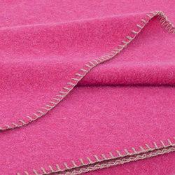 Alina Blanket raspberry | Plaids / Blankets | Steiner